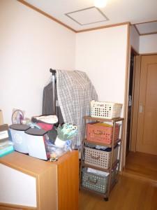 2階洗面洗濯スペース 工事前