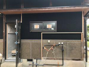 5.24外壁黒壁完了